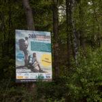 Werbung für den 24h Wandermarathon im September