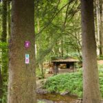 Hütte kurz vor Scheiden am Felsenweg