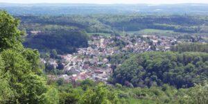 Blick auf Beckingen/Saar